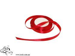 Лента атласная  0,6см красная