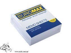 Бумага для заметок BuroMax 90х90мм 300 листов белые не склеенныйе BM.2209