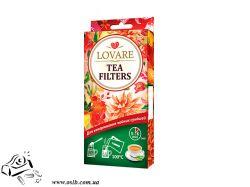 Фильтр-пакеты Lovare Tea Filters для заваривания чая 50 шт