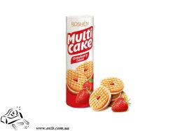 Печенье Roshen Multicake Strawberry Cream 180 г