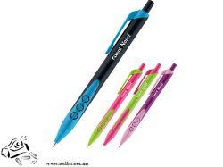 Ручка шариковая автоматическая Axent Novel AB1076-A, синяя, 0.7 мм