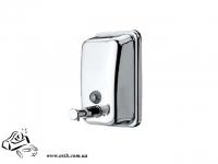 Дозатор для мыла 450 мл нержавеющая сталь SD-280