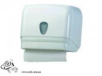 Диспенсер для бумажных полотенец 601 белый