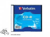 Диск CD-R Verbatim 700Mb Extra slim 48-52x 1 шт/уп 347