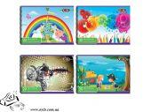 Альбом для рисования Zibi А4 20арк скоба