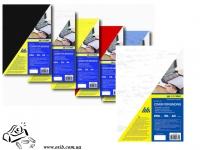 Обкладинки Buromax А4 біла 250г/м2 20шт картон під кожу  0581-12