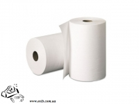 Бумажное полотенце для диспенсера 2-слойное 450 отрывов белое