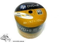 Диски DVD-R HP 4.7 Gb 16x bulk 50