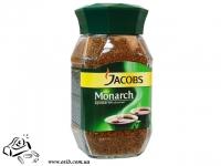 Кава Якобз Монарх 95г розчинна скло