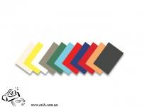 Обложки Economix А4 черная  400мк 100шт пластиковая