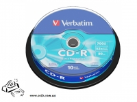 Диск CD-R Verbatim 700Mb Extra cake 10 52x 437