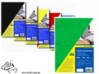Обложки Buromax 0581-04 А4 зеленые 250г/м2 50шт картон под кожу