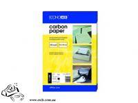 Копировальная бумага А4 EconoMix 100 листов синий
