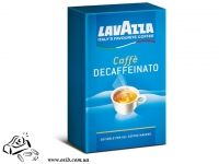 Кава Lavazza ДеКафінад 250г мелена ж/б