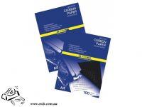 Копировальная бумага BuroMax МВ-16 А4 100 листов черный