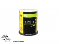 Диски DVD-R HP 4.7 Gb 16x cake 100