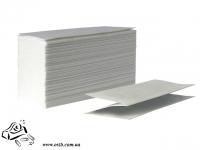 Бумажное полотенце листовое Z-обр 150 шт белые