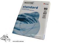 Бумага А3 Maeстро Стандарт 80 г/м2 96% 500 листов