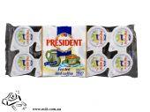 Вершки для кави President 10гх10шт 10%