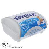 Туалетная бумага влажная Kleenex, 42 листа в тубе