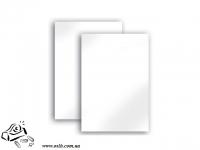 Обложки Optimal А4 белый картон 240г/м2 100 шт