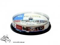 Диски DVD+R HP 4.7 Gb 16x cake 10