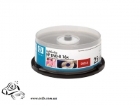 Диски DVD+R HP 4.7Gb 16x cake 25