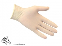 Перчатки латексные маленькие S 100 шт