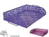 Горизонтальный лоток Buromax Barocco Фиолетовый (BM.6253-07)