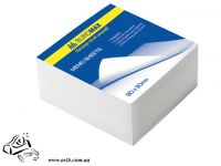 Бумага для заметок BuroMax 80х80мм 300 листов белые не проклеенные 2201