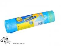 Мешки для мусора Фрекен Бок 60л 60х80 10 шт синие с затяжками