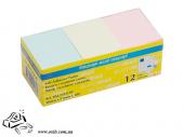 Бумага для заметок BuroMax 2310-99 38х51мм 100 листов пастель