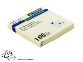 Бумага для заметок BuroMax 2312-01 76х76мм 100 листов желтый