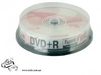 Диски DVD+R Axent 10шт 16x 4.7GB 120хв