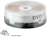 Диски DVD+R Axent 25шт 16х 4,7GВ 120хв