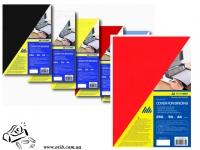 Обложки Buromax 0581-05 А4 красные 250г/м2 50шт картон под кожу