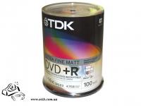Диски DVD+R 100шт 16x 4,7GB 120хв