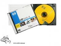 Диски DVD+R HP 4.7 Gb 16x slim