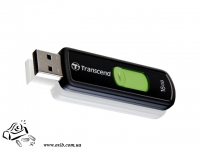 Флеш-память  Transcend 16Gb JetFlash 590 NAND Flash 16GB  USB 2.0  Black/Green