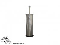 Ершик для туалета нержавеющая сталь 105x105x380мм