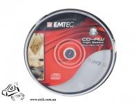 Диски CD-RW Emtec 700 Mb 4x-10x Cake 25