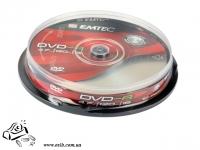 Диски DVD+R Emtec 4.7 Gb 16x Cake 10
