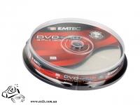 Диски DVD+RW Emtec 4.7 Gb 4x Cake box10