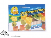 Зубочистки деревянные Фрекен Бок 500 шт