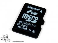 Карта памяти Kingston SD 2 GB