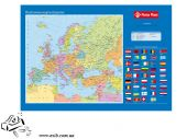 Покрытие на стол PantaPlast 590х415мм Карта Европы
