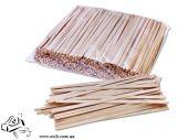 Мешалка одноразовые  деревянные пачка 500шт